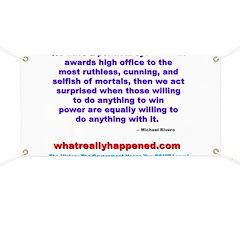 POLITICALPOWER Banner