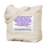 POLITICALPOWER Tote Bag
