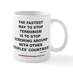 ENDING TERRORISM Mug