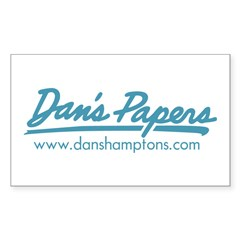 Classic Dan's Logo Rectangle Sticker 50 pk)