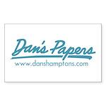 Classic Dan's Logo Rectangle Sticker 50 pk)