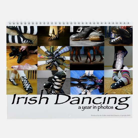 Irish Dance Wall Calendar