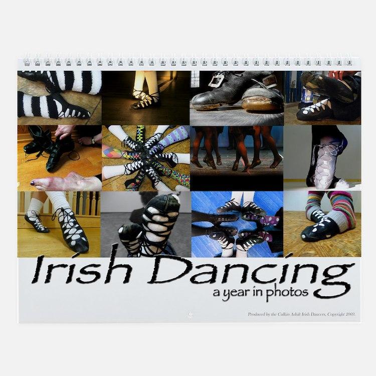 Irish Dance Wall Calendar