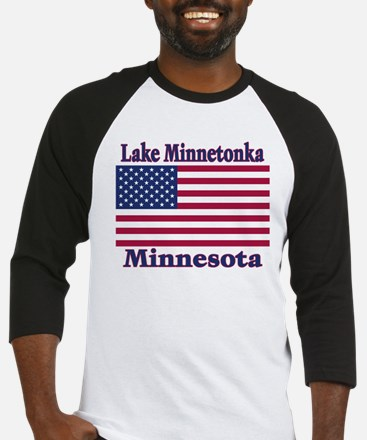 Lake Minnetonka Flag Baseball Jersey