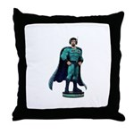 Action Figure Throw Pillow