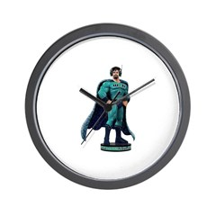 Action Figure Wall Clock