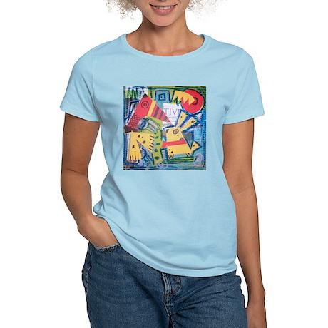 Bird Dog & Car Women's Light T-Shirt
