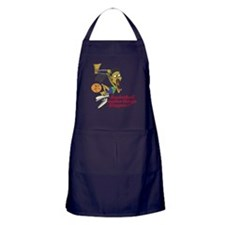 Basketball Makes Things Happe Apron (dark)