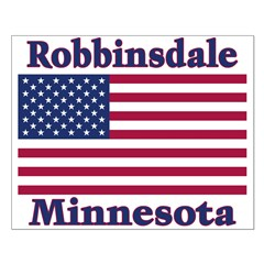 Robbinsdale Flag Posters