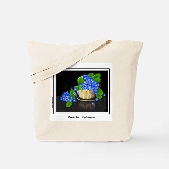 Unique Hydrangea Tote Bag
