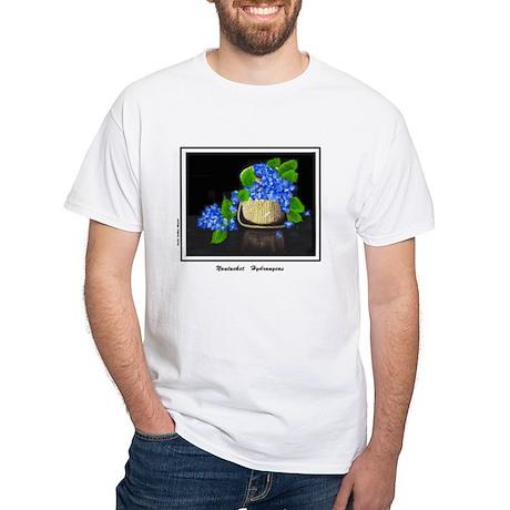 Calendar - Nantucket Hydrangeas 2 T-Shirt