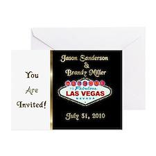 Jason/Brandy Wedding Invites (Pk of 10)