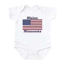 Blaine Flag Infant Bodysuit