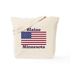 Blaine Flag Tote Bag