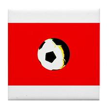 Soccer / Football / Futbol Tile Coaster Trivet