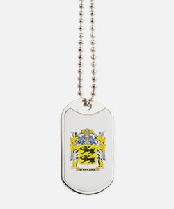 O'Rourke Family Crest - Coat of Arms Dog Tags