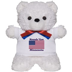 Mounds View Flag Teddy Bear