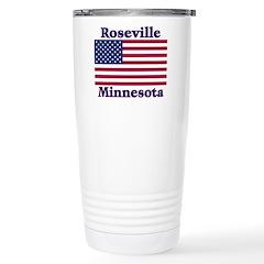 Roseville Flag Stainless Steel Travel Mug