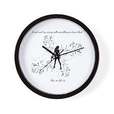 Basic Black Wall Clock