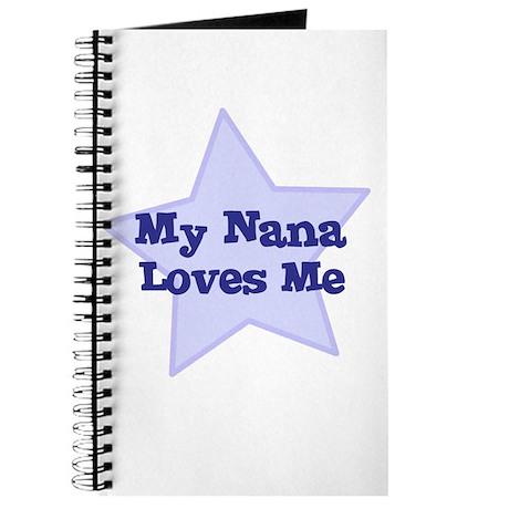 My Nana Loves Me Journal