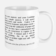 Luther at Worms Small Small Mug