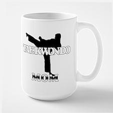 Taekwondo Mom Large Mug