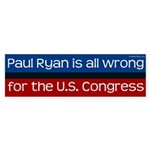 Paul Ryan campaign bumper sticker
