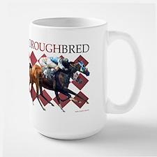 """""""Thoroughbred"""" Large Mug"""