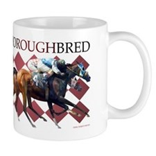 """Thoroughbred"" Mug"