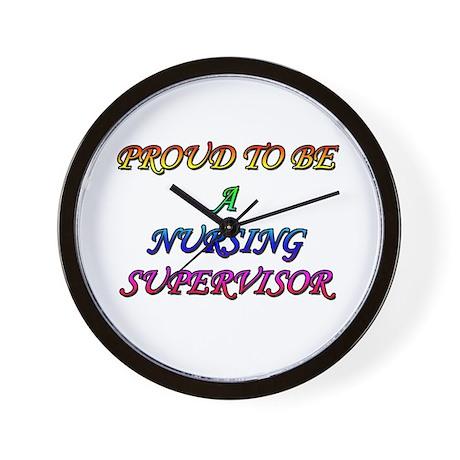 NURSING SUPERVISOR Wall Clock