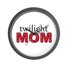 """Twilight Mom"" Wall Clock"