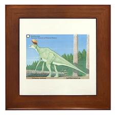 Lambeosaurus Framed Tile