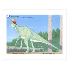 Lambeosaurus Posters