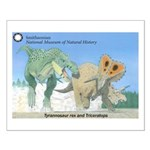 TrexTriceratops Small Poster