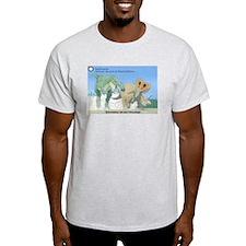 TrexTriceratops Light T-Shirt