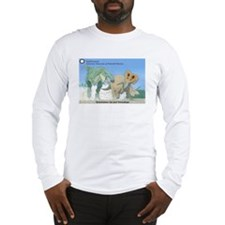 TrexTriceratops Long Sleeve T-Shirt