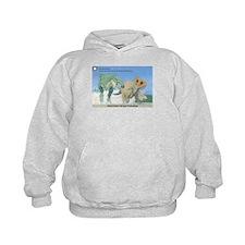 TrexTriceratops Kids Hoodie