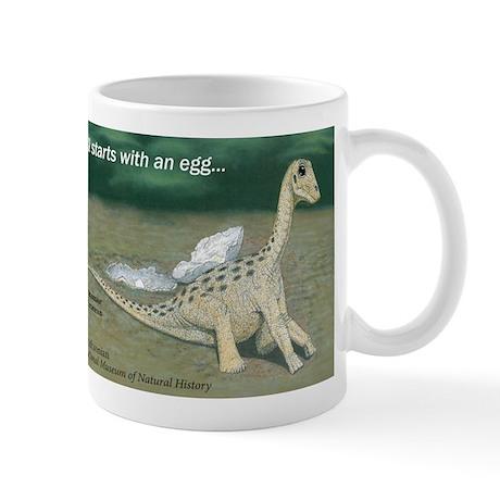 Giant Titanosaur Egg Mug