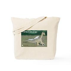 Giant Titanosaur Egg Tote Bag
