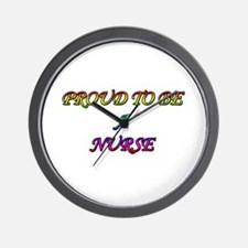 Unique Careers and professions nurse Wall Clock