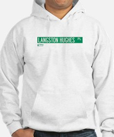 Langston Hughes Place in NY Hoodie