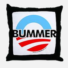 O-Bummer Anti-Obama Throw Pillow