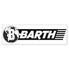 Barth Rv Bumper Bumper Sticker