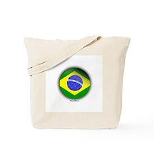 Brazil - Heart Tote Bag
