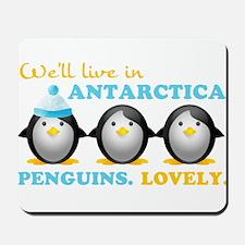 Penguins.Lovely. Mousepad