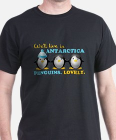 Penguins.Lovely. T-Shirt