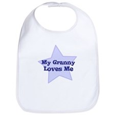 My Granny Loves Me Bib