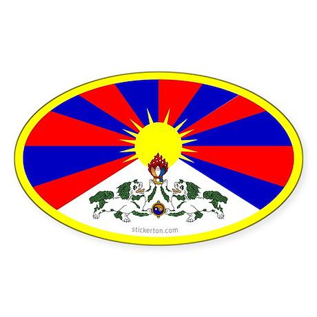 Tibet Flag Sticker