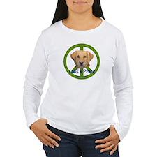Labs 4 Peace-Yellow T-Shirt