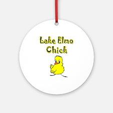 Lake Elmo Chick Ornament (Round)